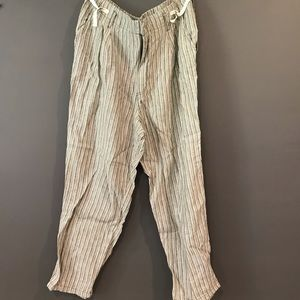 Anthropologie Linen Pant